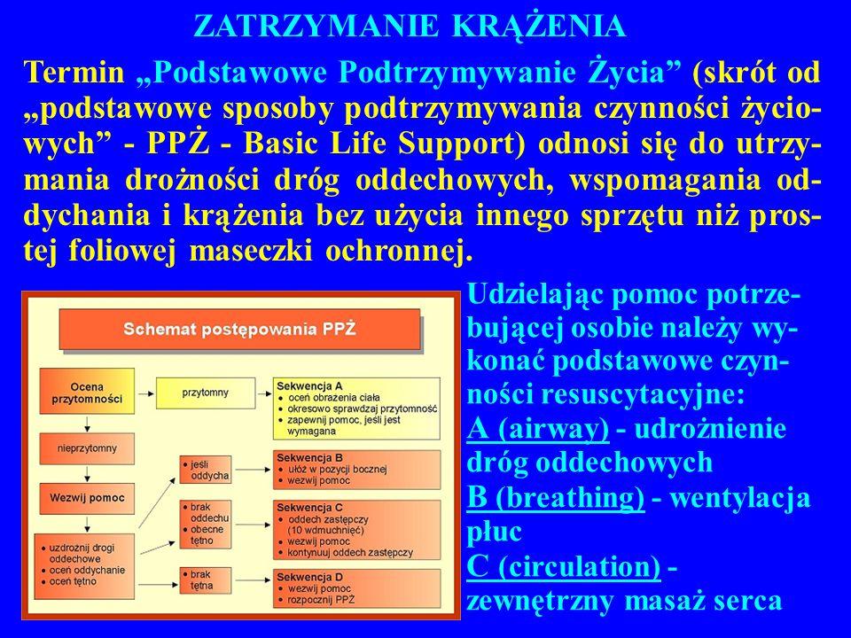 A (airway) - udrożnienie dróg oddechowych