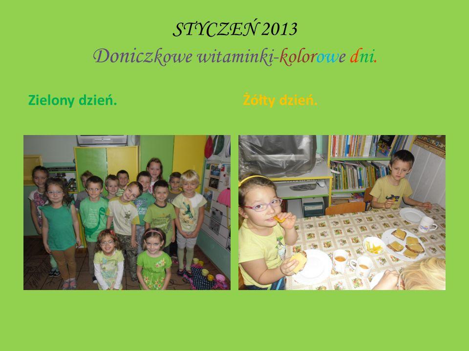 STYCZEŃ 2013 Doniczkowe witaminki-kolorowe dni.