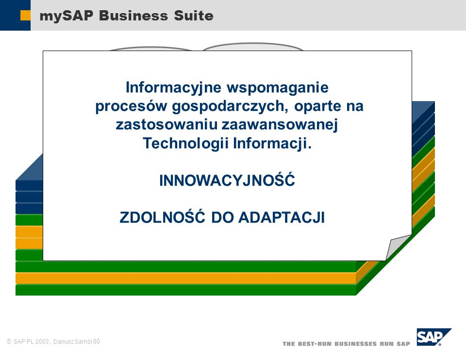 Informacyjne wspomaganie procesów gospodarczych, oparte na