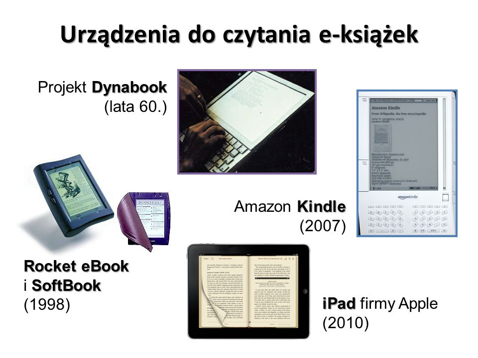 Urządzenia do czytania e-książek