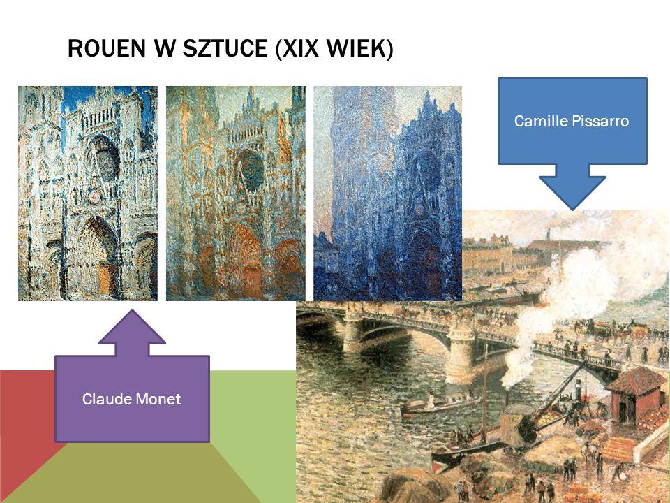 Rouen w sztuce (XIX wiek)