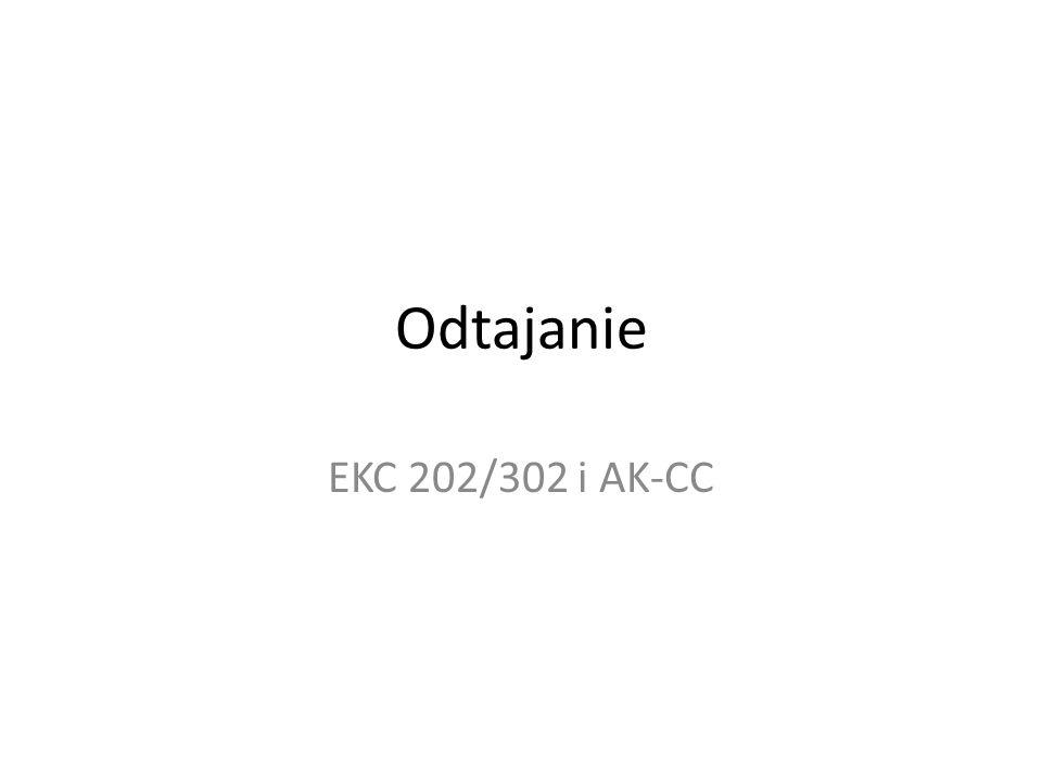 Odtajanie EKC 202/302 i AK-CC