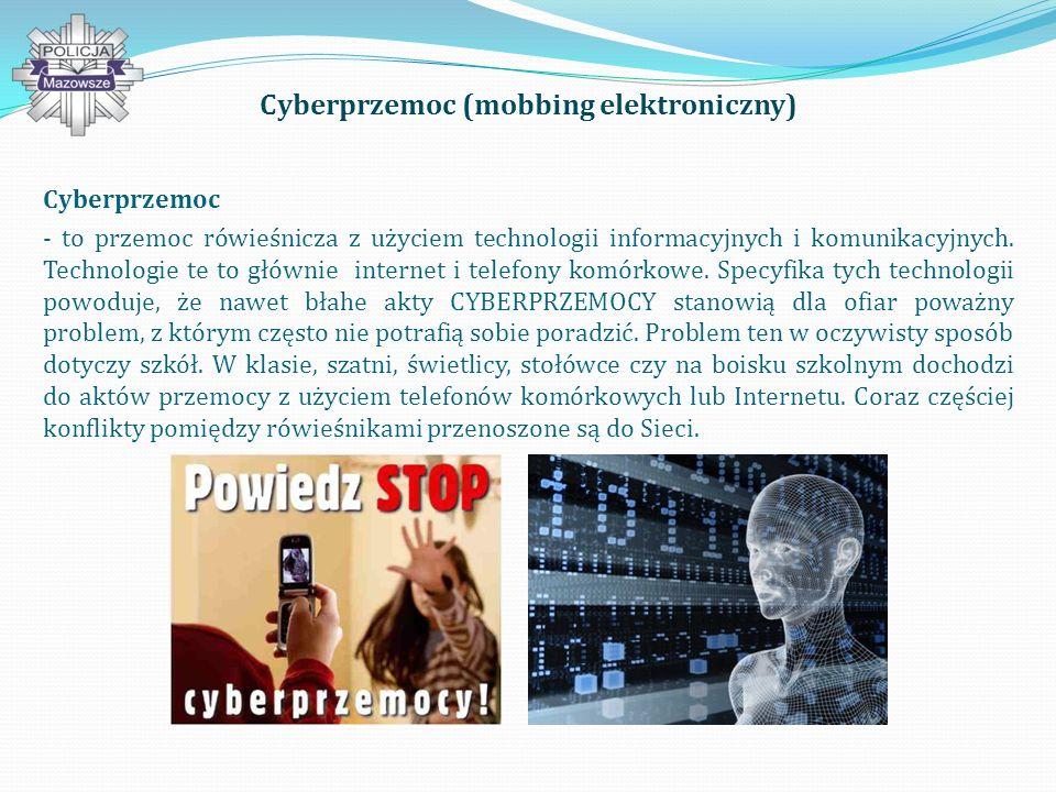 Cyberprzemoc (mobbing elektroniczny)