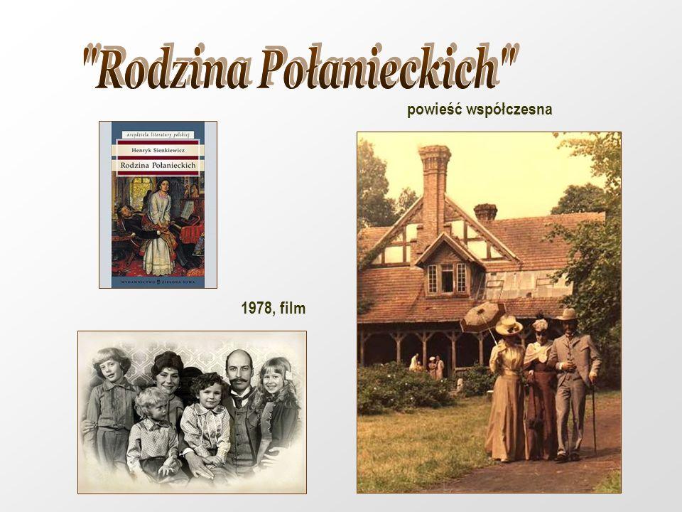 Rodzina Połanieckich powieść współczesna 1978, film