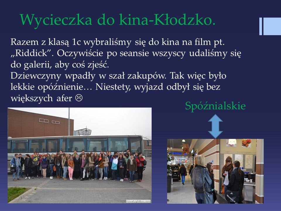 Wycieczka do kina-Kłodzko.