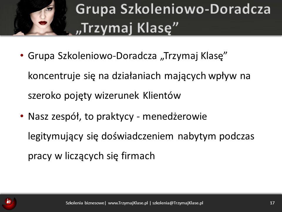 """Grupa Szkoleniowo-Doradcza """"Trzymaj Klasę"""