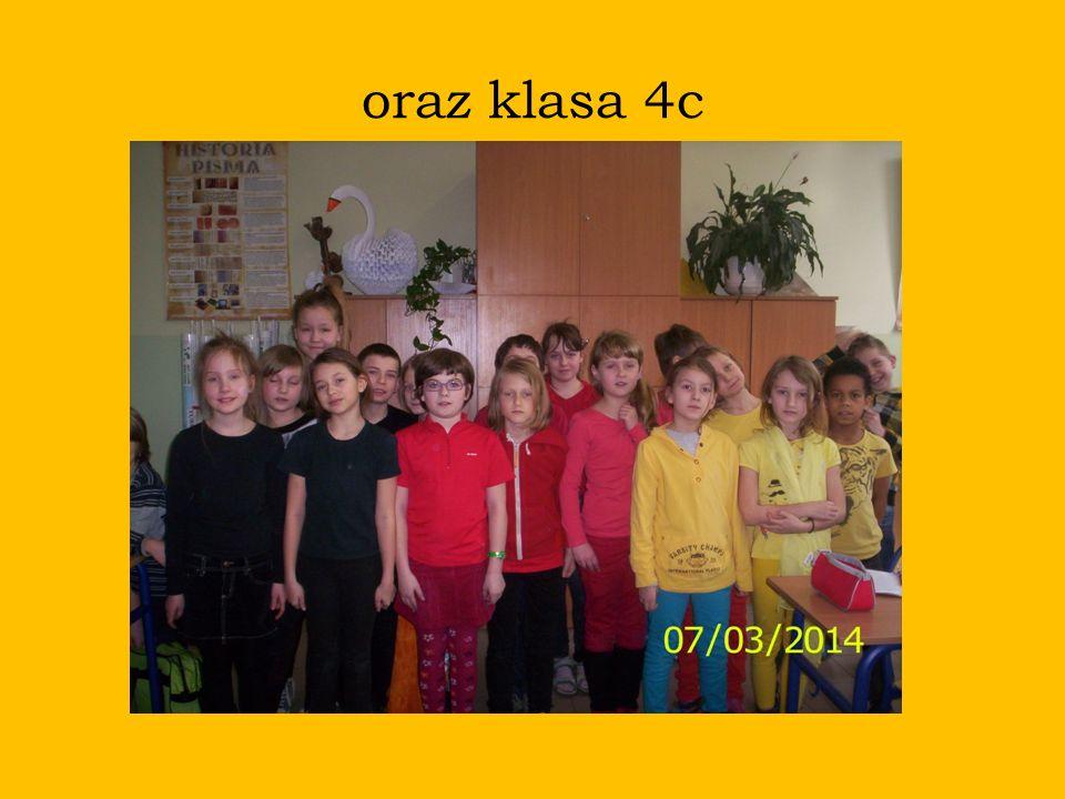 oraz klasa 4c