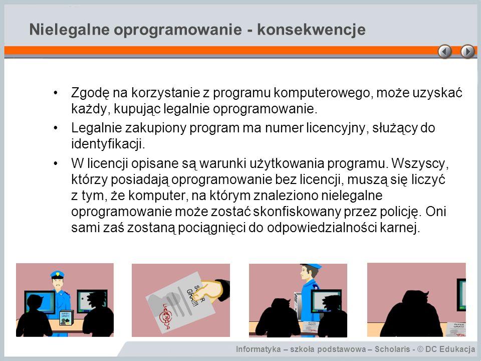 Nielegalne oprogramowanie - konsekwencje