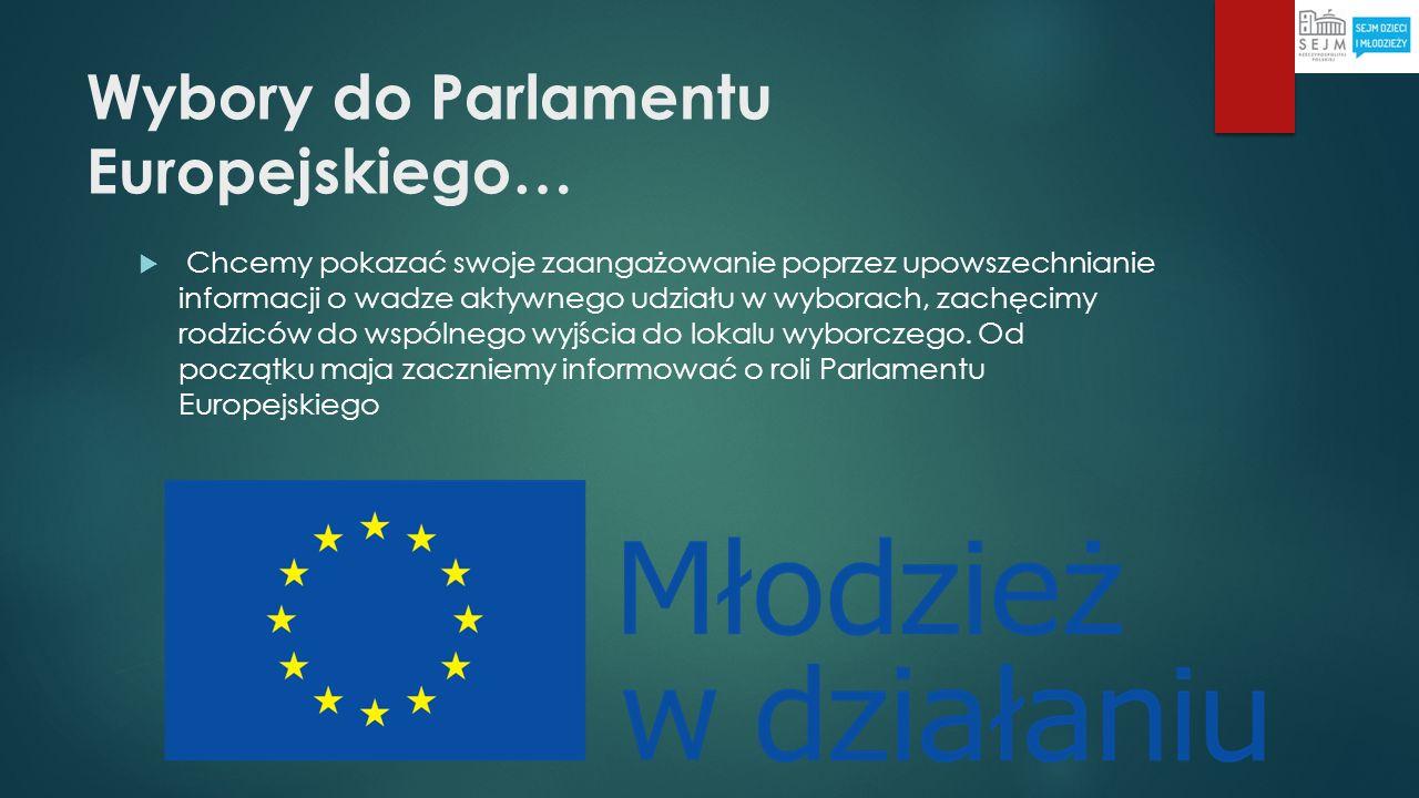 Wybory do Parlamentu Europejskiego…