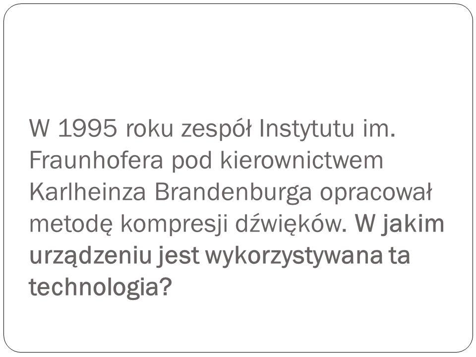 W 1995 roku zespół Instytutu im