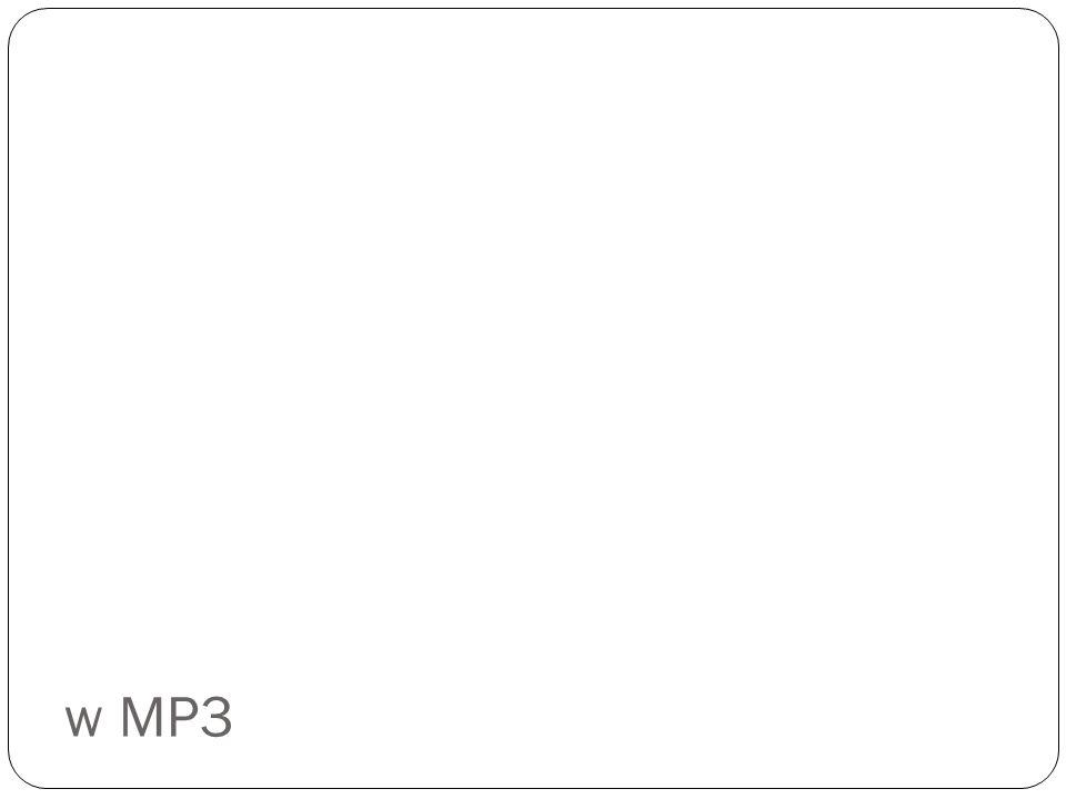 w MP3