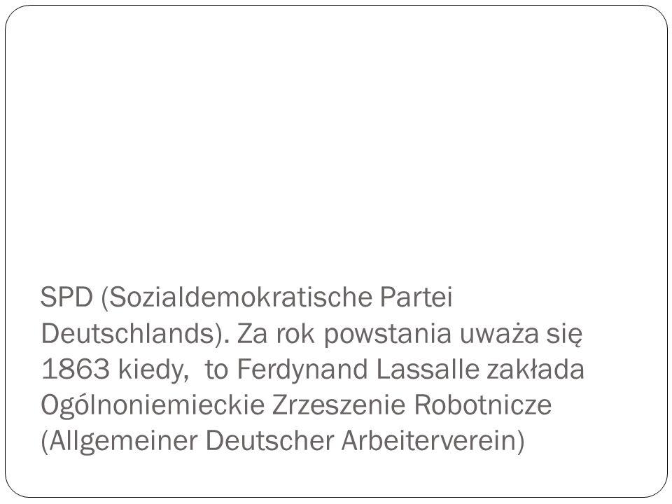 SPD (Sozialdemokratische Partei Deutschlands)