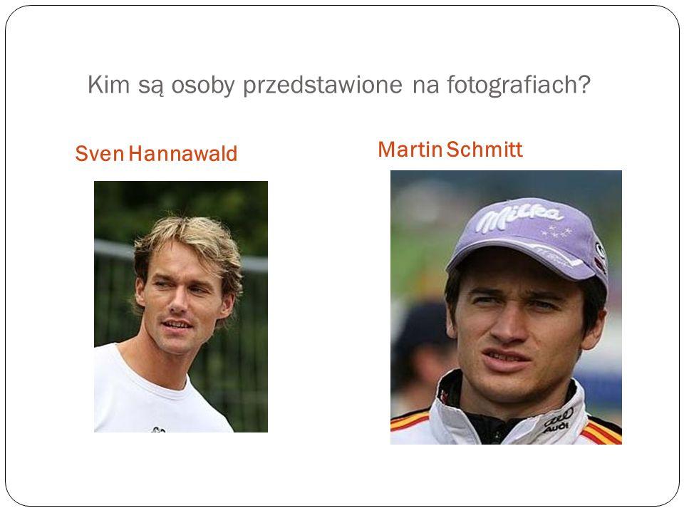 Kim są osoby przedstawione na fotografiach