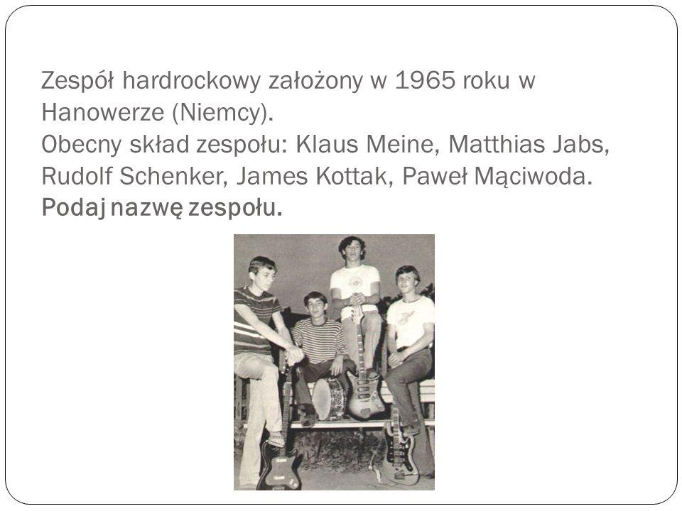 Zespół hardrockowy założony w 1965 roku w Hanowerze (Niemcy)