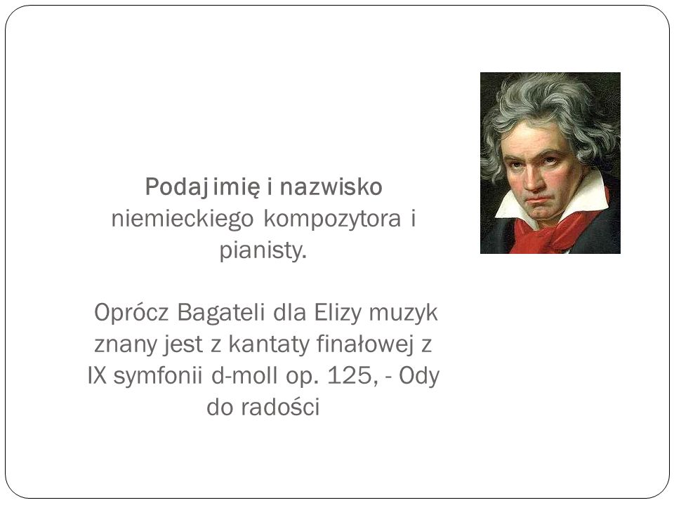 Podaj imię i nazwisko niemieckiego kompozytora i pianisty