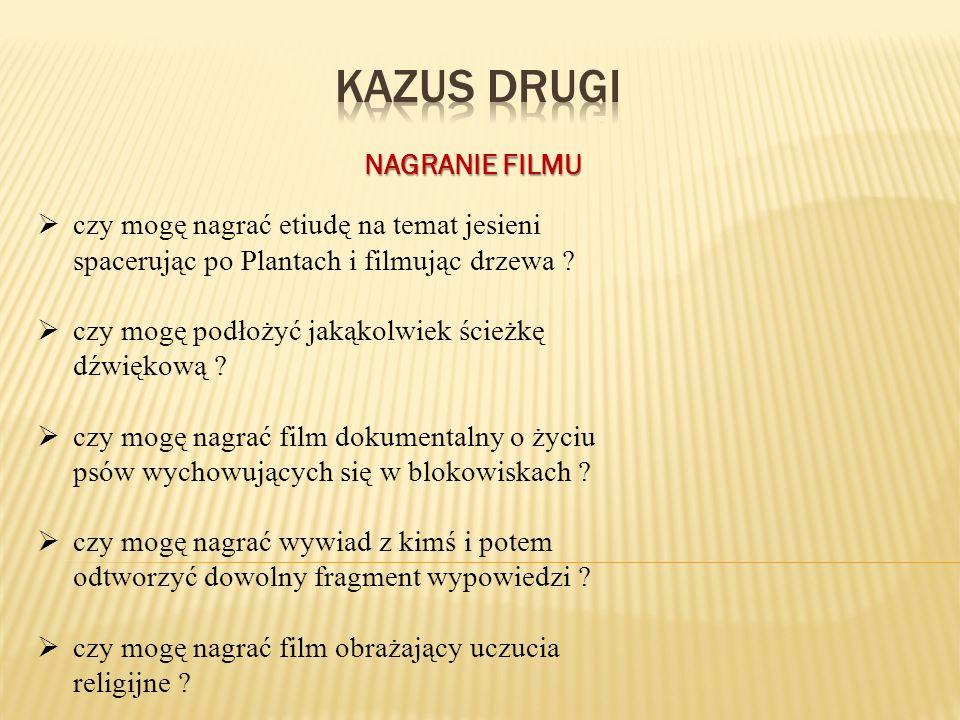 KAZUS drugi NAGRANIE FILMU