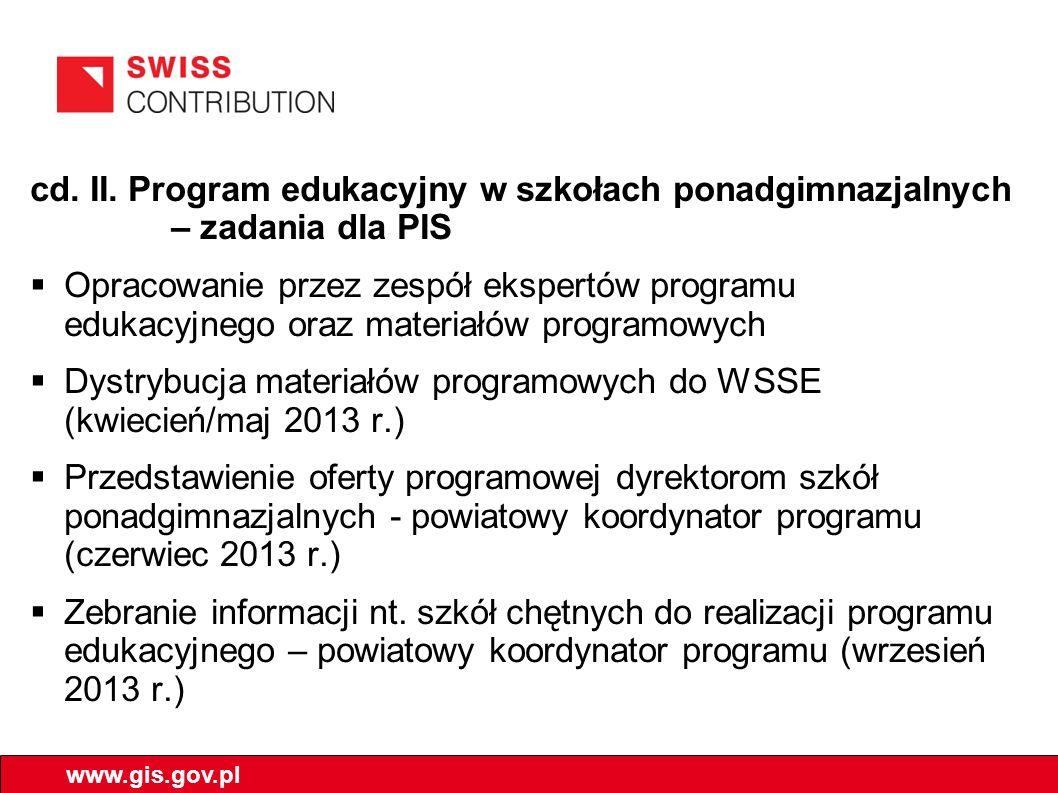 Dystrybucja materiałów programowych do WSSE (kwiecień/maj 2013 r.)