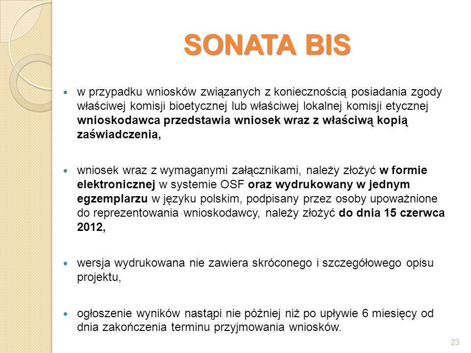 SONATA BIS