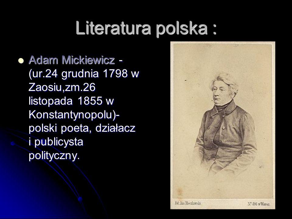 Literatura polska :