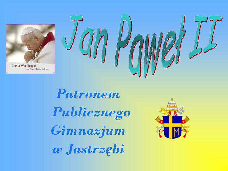 Patronem Publicznego Gimnazjum w Jastrzębi