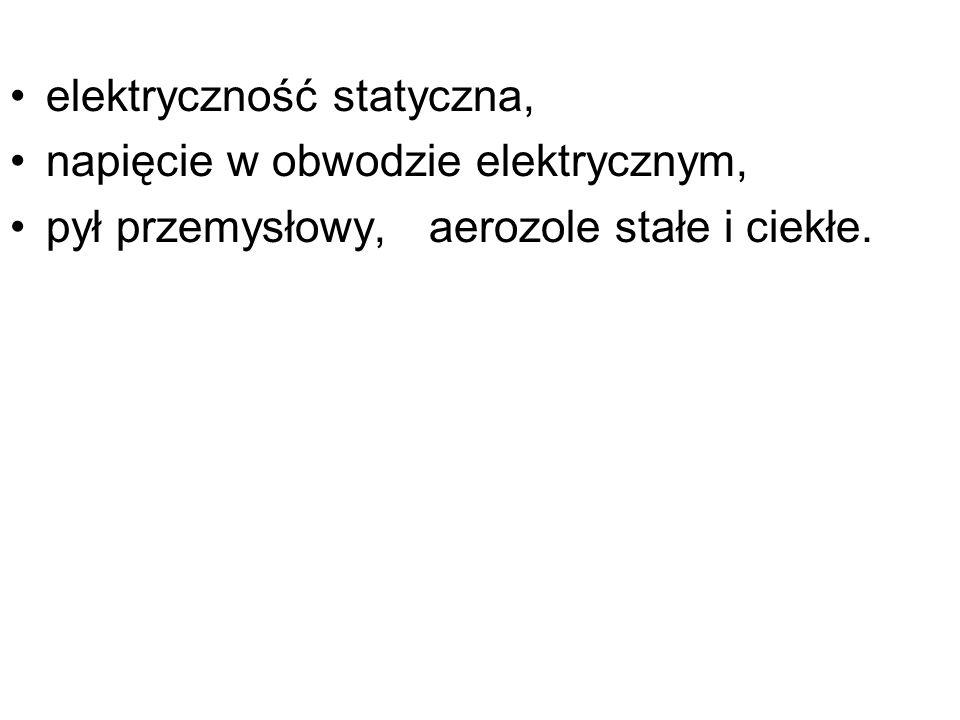 elektryczność statyczna,