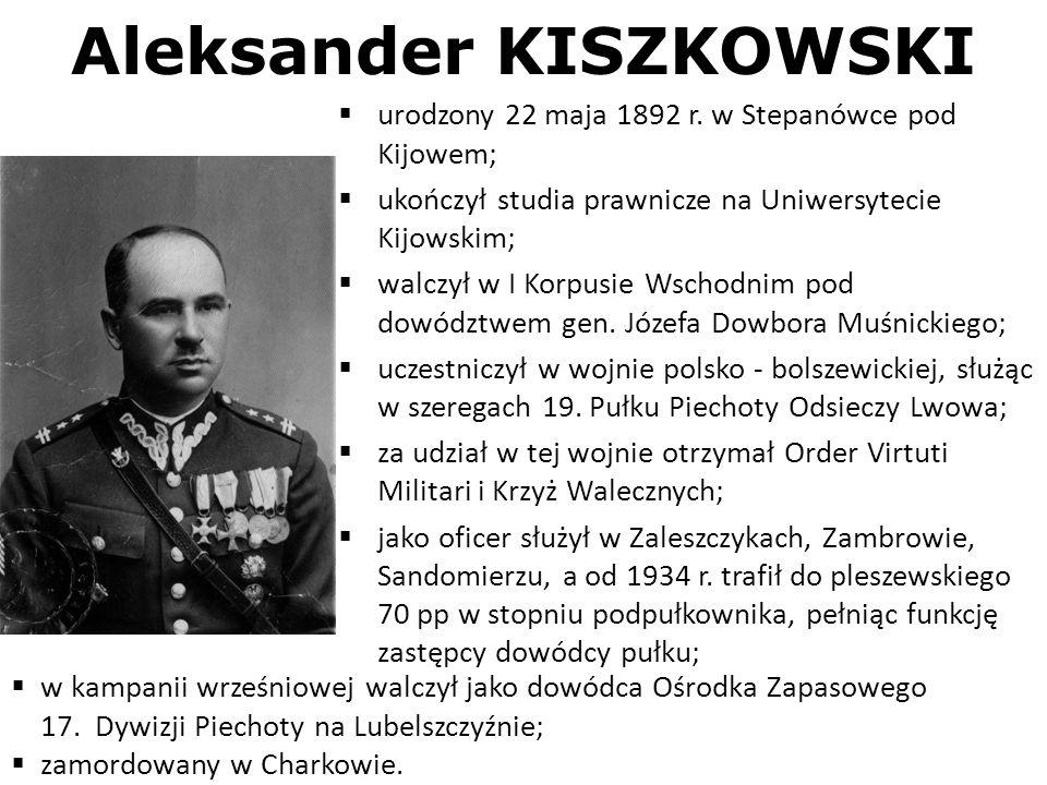 Aleksander KISZKOWSKI