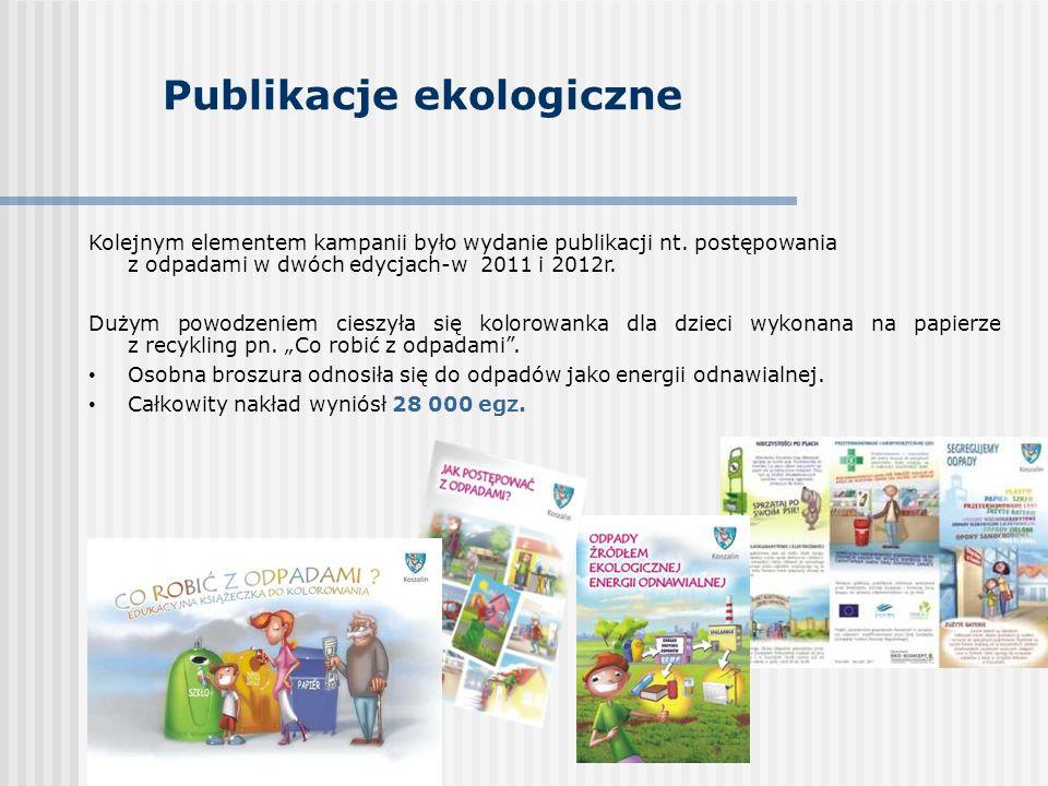 Publikacje ekologiczne