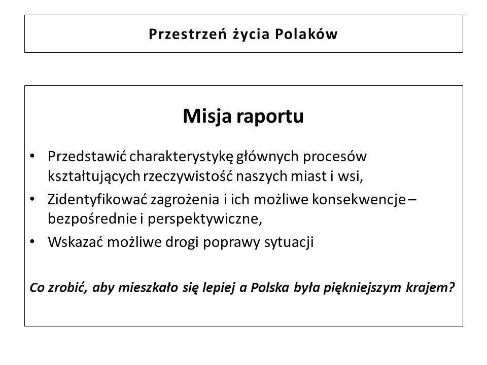Przestrzeń życia Polaków