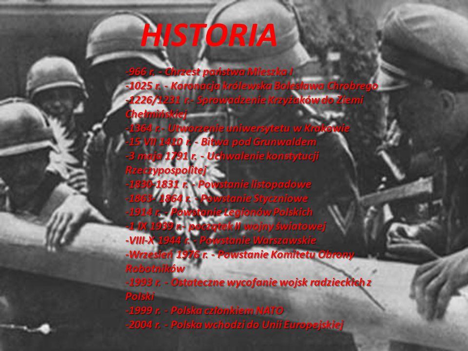 HISTORIA HISTORIA -966 r. - Chrzest państwa Mieszka I