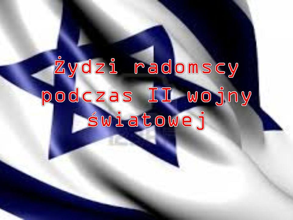Żydzi radomscy podczas II wojny światowej