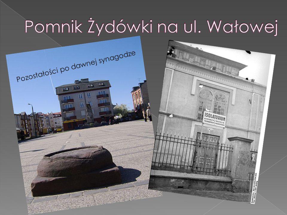Pomnik Żydówki na ul. Wałowej