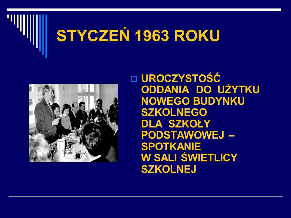 STYCZEŃ 1963 ROKU
