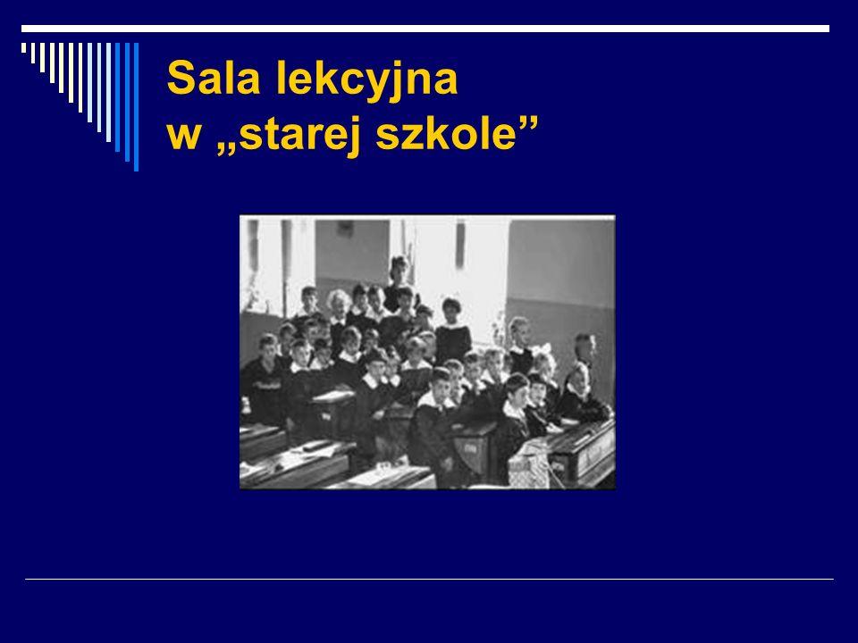 """Sala lekcyjna w """"starej szkole"""