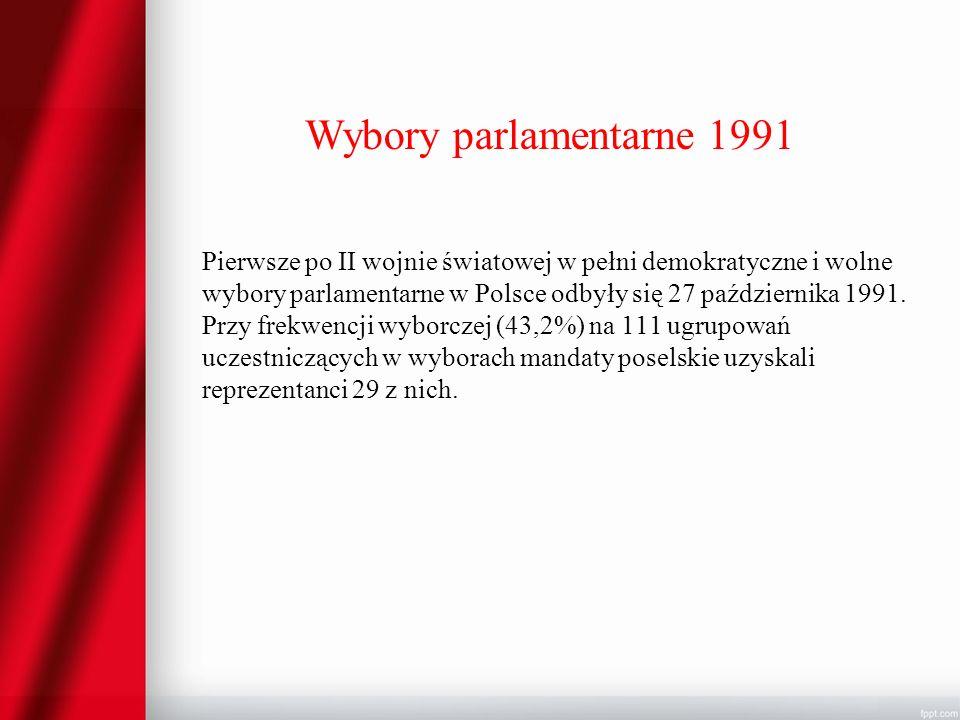 Wybory parlamentarne 1991