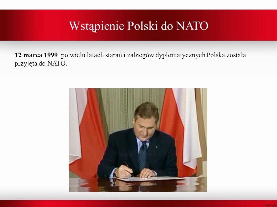 Wstąpienie Polski do NATO