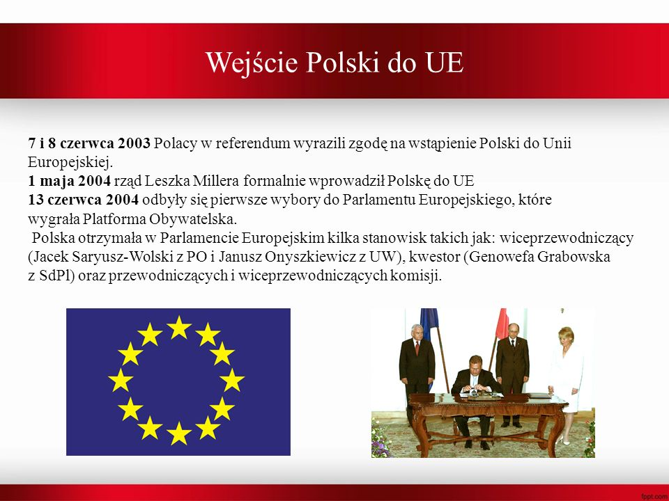 Wejście Polski do UE