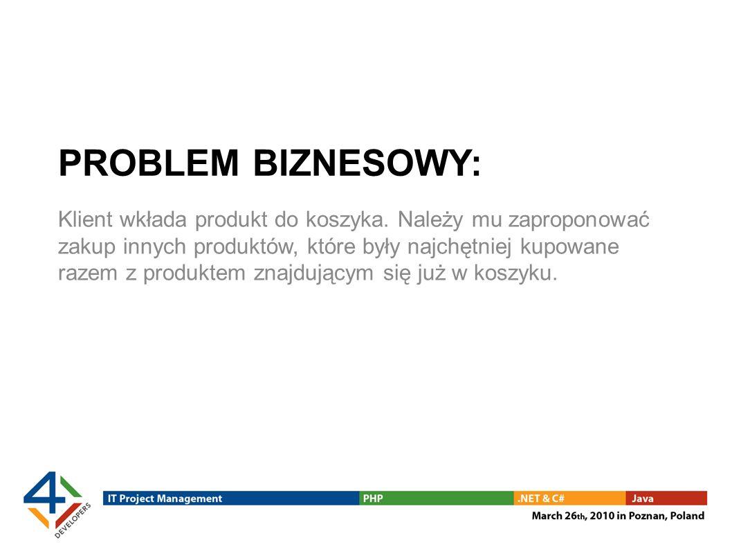 PROBLEM BIZNESOWY: