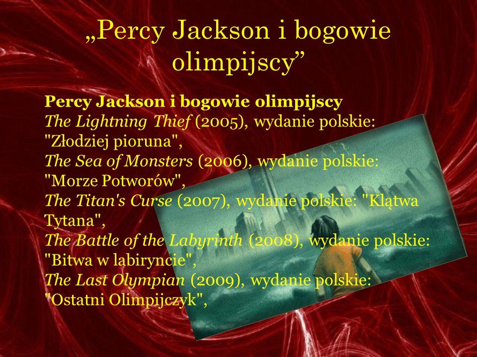 """""""Percy Jackson i bogowie olimpijscy"""