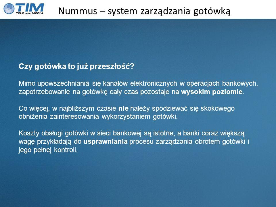 Nummus – system zarządzania gotówką