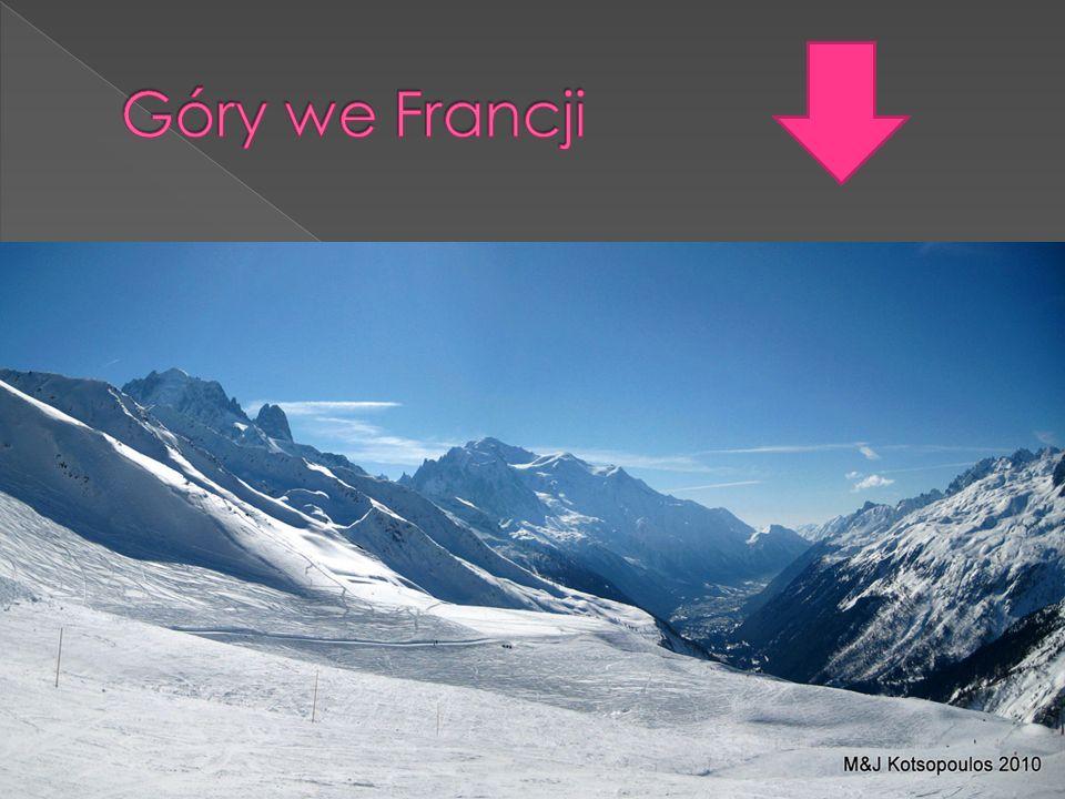 Góry we Francji