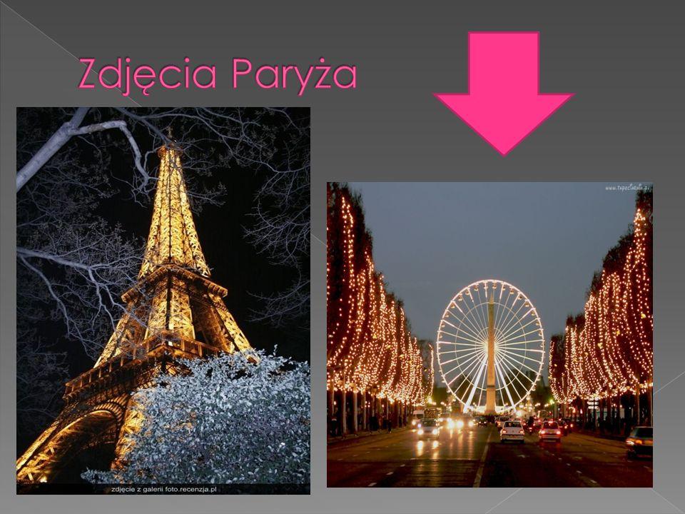 Zdjęcia Paryża