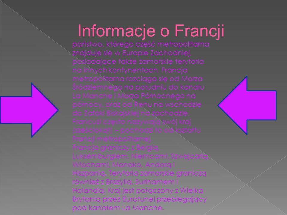 Informacje o Francji