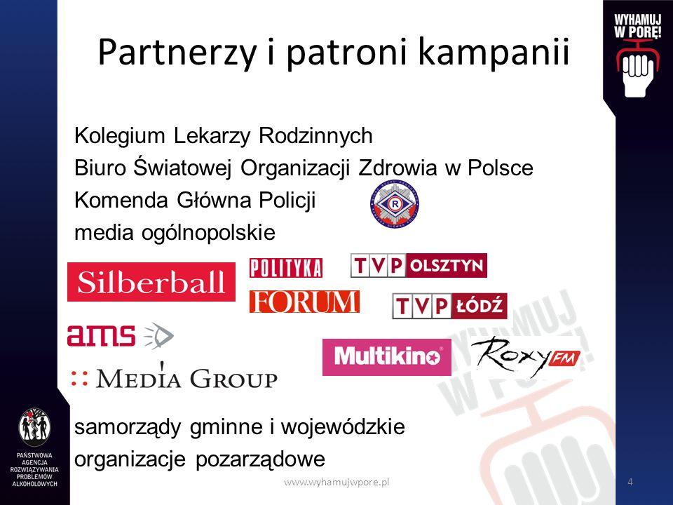 Partnerzy i patroni kampanii