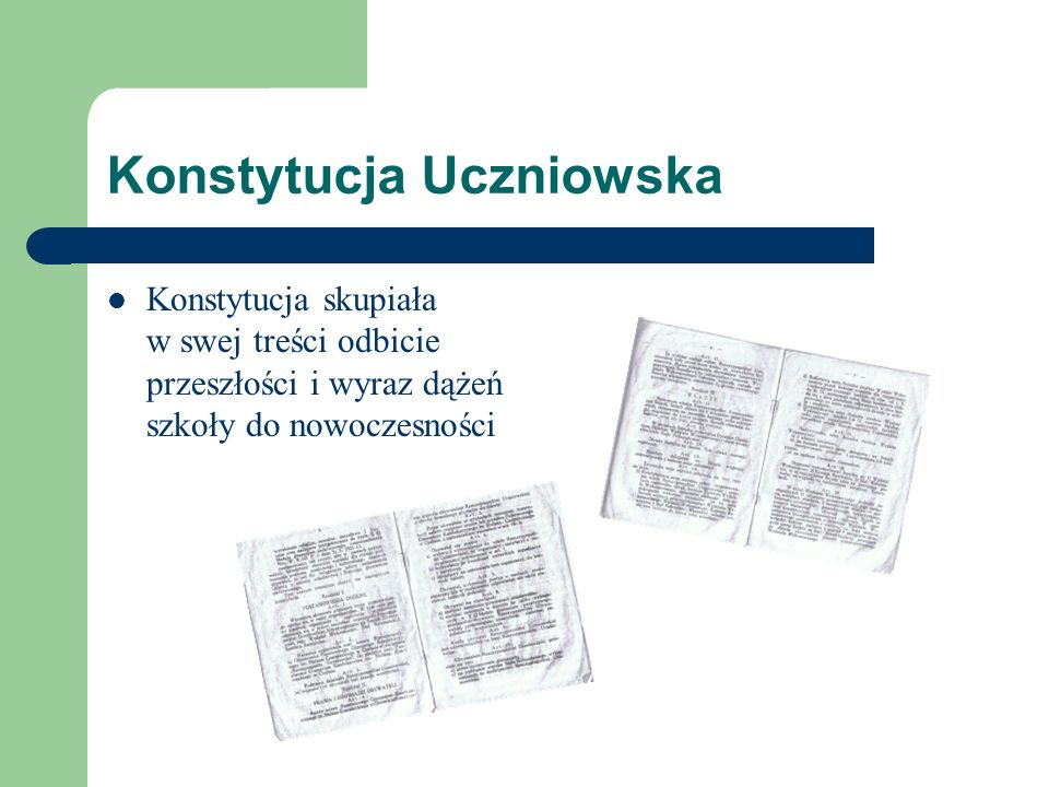 Konstytucja Uczniowska