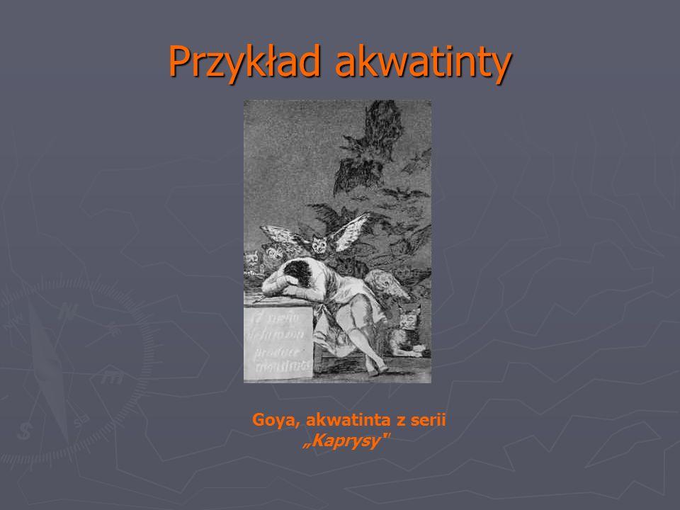 """Goya, akwatinta z serii """"Kaprysy'"""