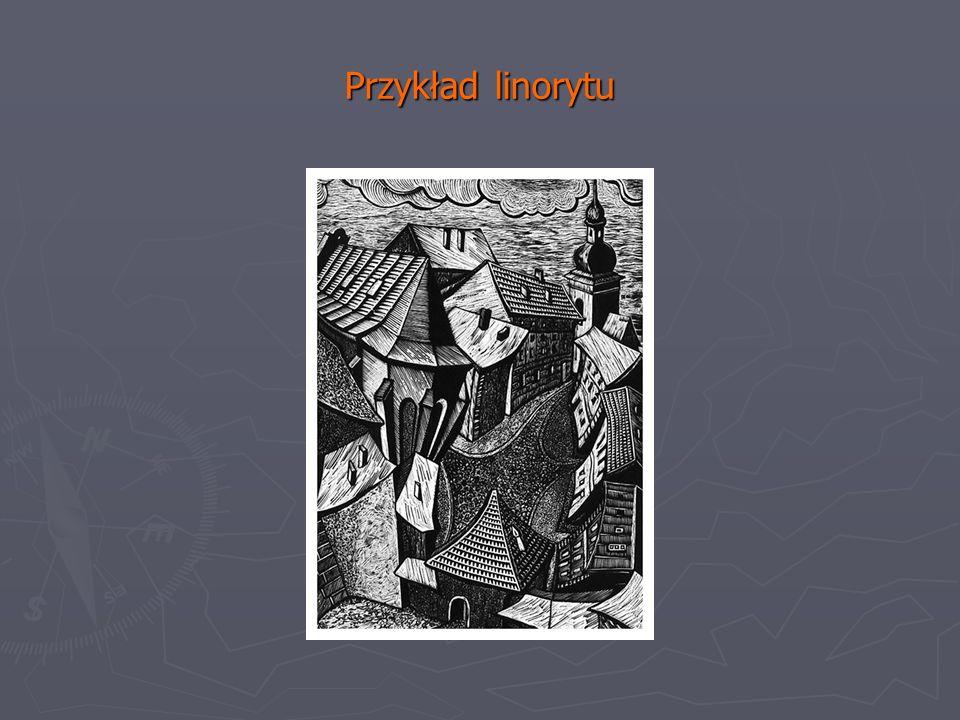 Przykład linorytu