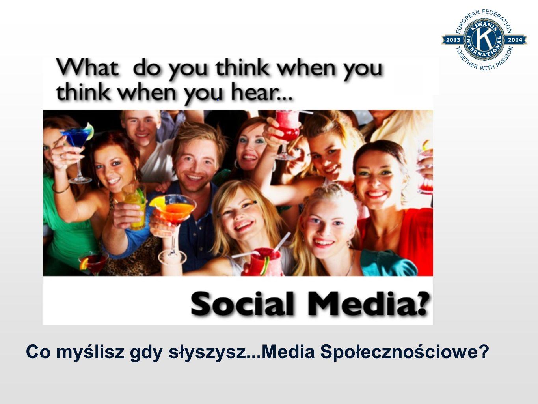 Co myślisz gdy słyszysz...Media Społecznościowe