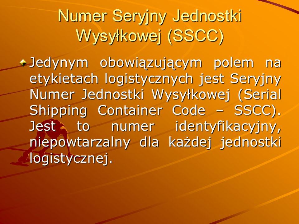 Numer Seryjny Jednostki Wysyłkowej (SSCC)