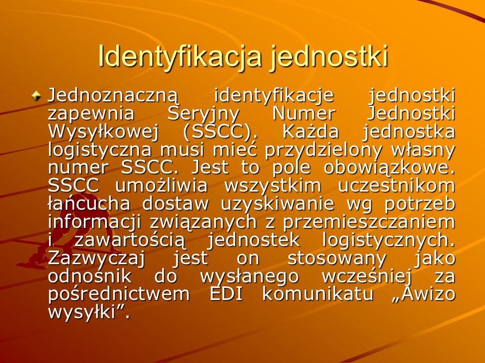 Identyfikacja jednostki