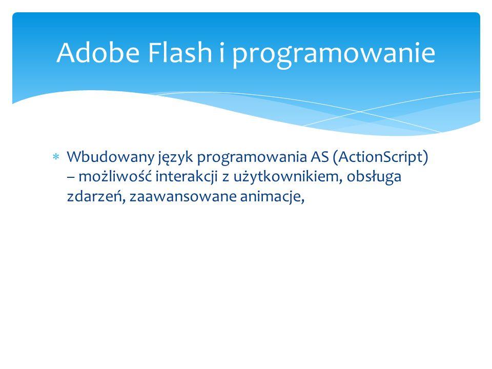 Adobe Flash i programowanie